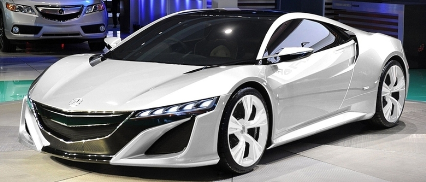 Honda NSX Supercar Was Present For Visitors To See At The Bucharest Auto Parts And Accessories Fair Romexpo