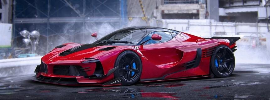 The 4 Million Usd Ferrari Car How Good Is Looking New F K Evo