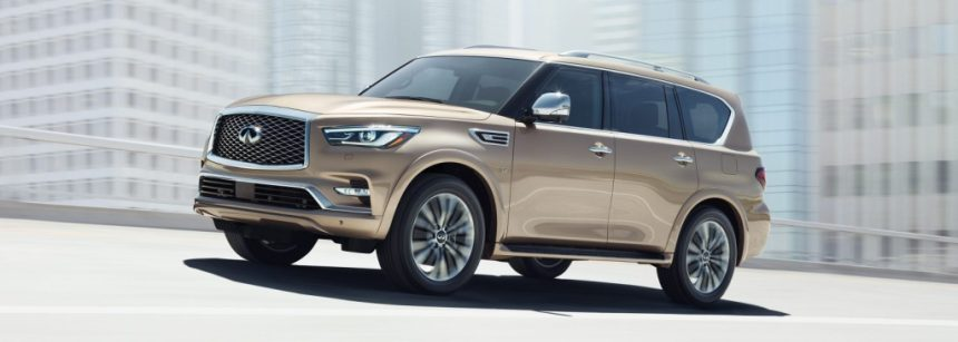 Infiniti QX80 - It's time for a new leader on the market of SUVs